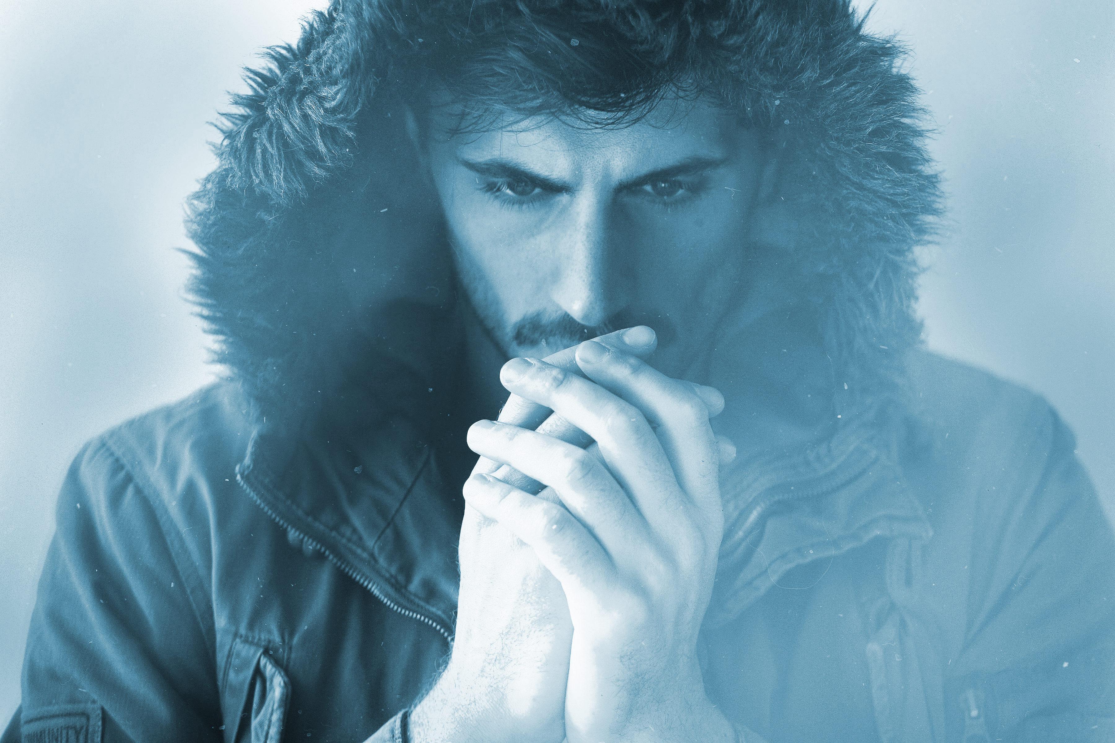 der mann stilvoll im winter