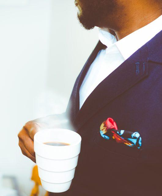 Einstecktuch im Anzug